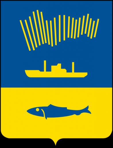 Wappen der Stadt Murmansk