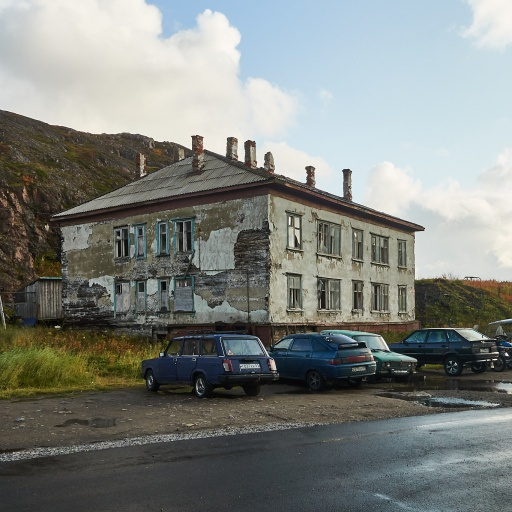 Wohnhaus in Teriberka