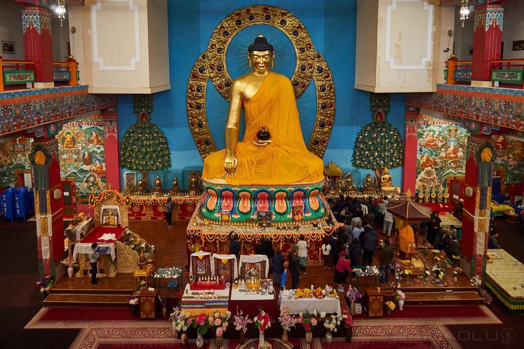 Buddha Statue im Goldenen Tempel