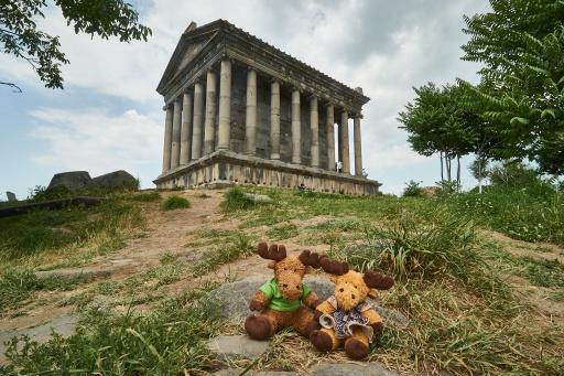 Garni Temple mit Hauge und Swedy