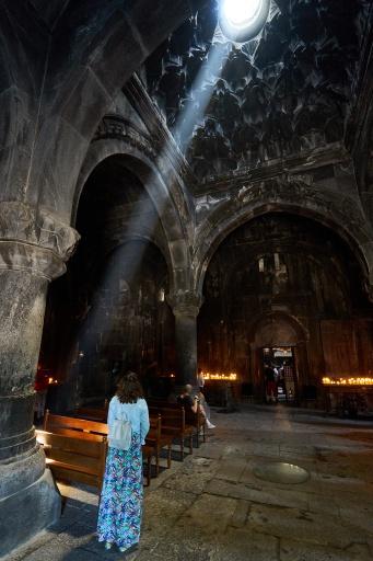 Im Kloster Geghard