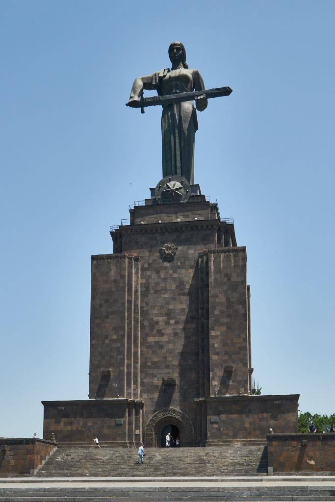 Mutter Armenien Statue