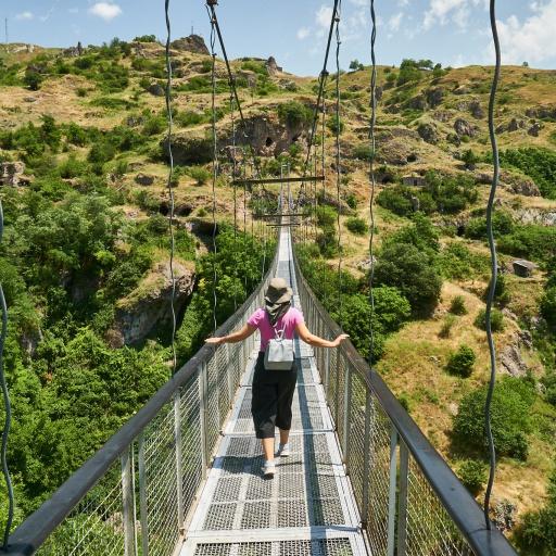 Xndzoresk Hängebrücke