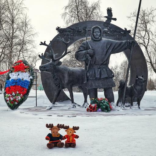 Hauge und Swedy in der russischen Arktis