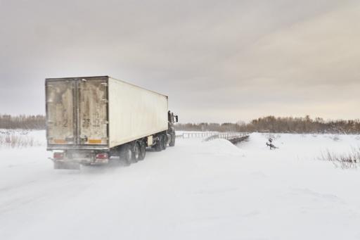 Truck auf Zimnik