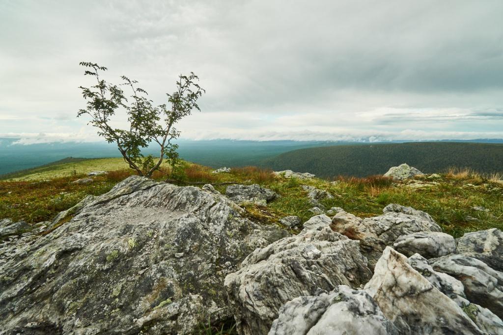 Blick über das Uralgebirge