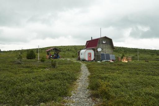Hütte am Manpupunior