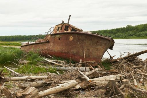 Lost Boot in Komsomolsk