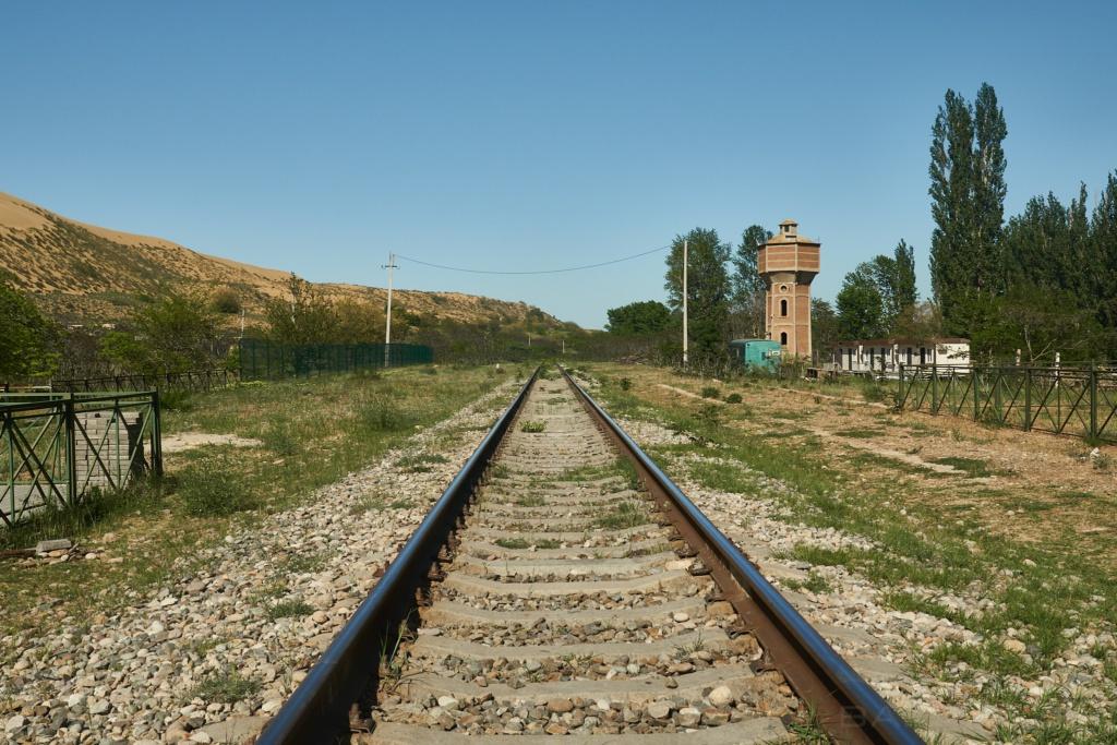 Gleis in Dagestan