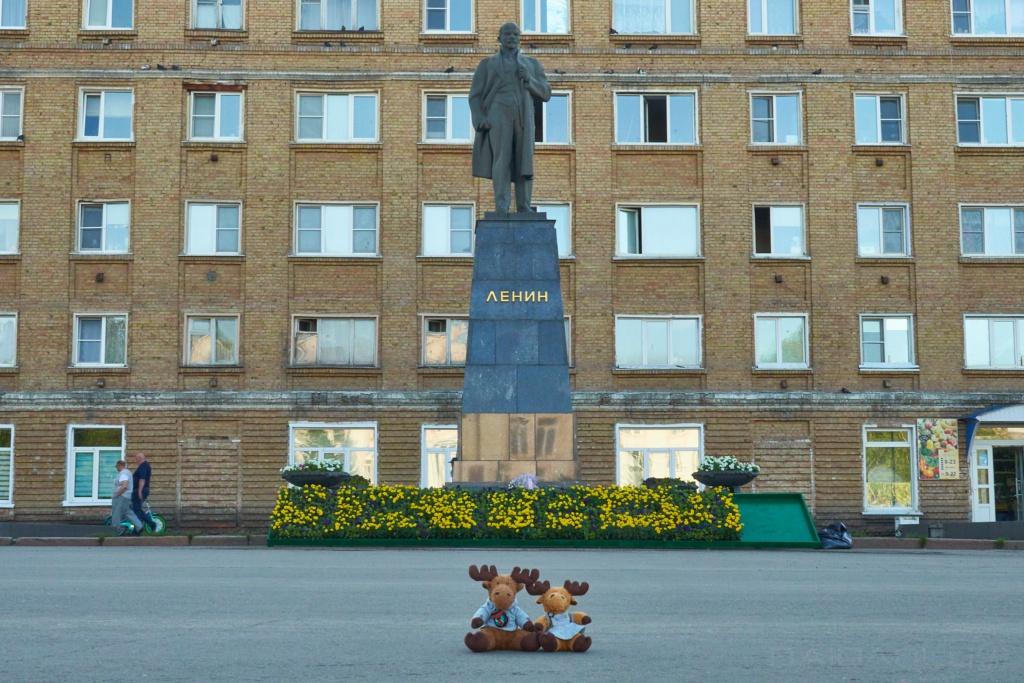 Lenin in Uchta