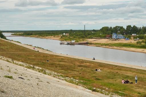Uferpromenade Syktywkar